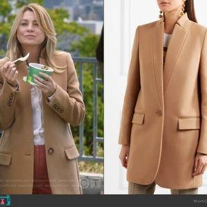 Stella McCartney Bryce coat in herrington size 8